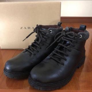 ザラ(ZARA)のZARA/ジュニアブーツ 35サイズ(ブーツ)