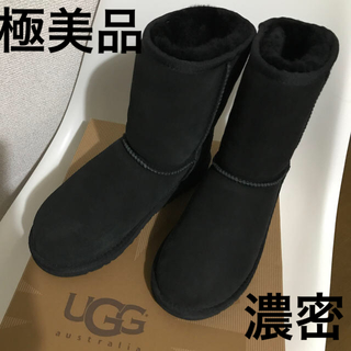 UGG - UGG キッズブーツ 21cm  黒 極美品!