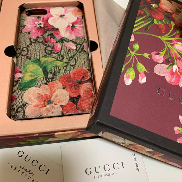 ルイヴィトン iphone7plus ケース レディース | Gucci - iPhoneケース    Gucci ブルームの通販