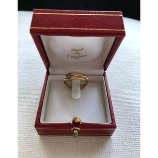 カルティエ(Cartier)の美品 Cartier カルティエ  3連トリニティリング(リング(指輪))