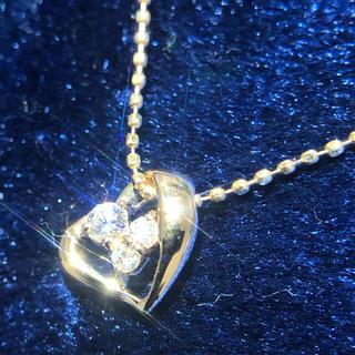 ヨンドシー(4℃)の4°C ネックレス ダイヤモンド k18 18金 ペンダント ヨンドシー(ネックレス)