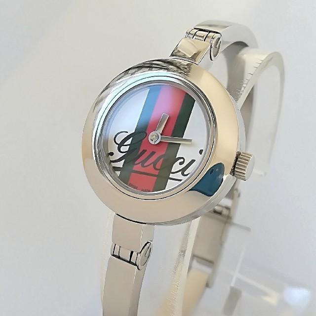 アクノアウテッィク コピー 箱 、 Gucci - 綺麗 グッチ 新品仕上げ シェリー レディースウォッチ 時計 卒業式 極美品の通販