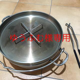 シンフジパートナー(新富士バーナー)のゆうふむ様専用 SOTO ステンレスダッチオーブン 12インチとリッドリフター(調理器具)
