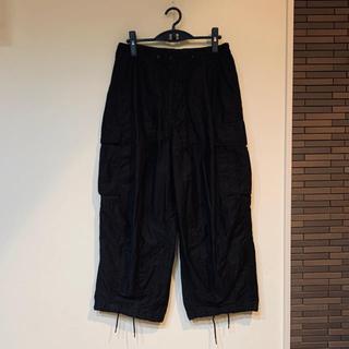 ニードルス(Needles)のNeedles ニードルズ H.D pants ヒザデルパンツ BDU 黒 S(ワークパンツ/カーゴパンツ)