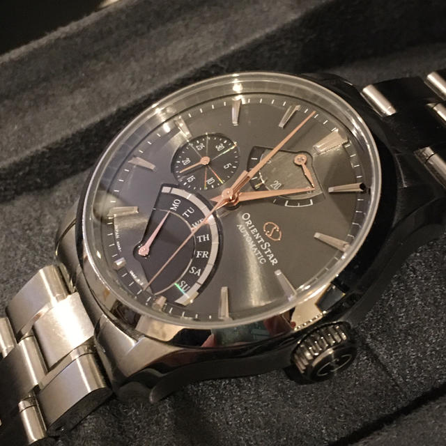 ロレックス スーパー コピー 時計 本物品質 | ORIENT - 美品! オリエントスター プレステージ限定 メンズ 機械式 レトログラードの通販