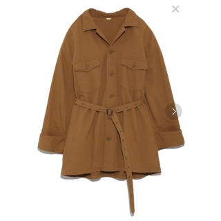 ミラオーウェン(Mila Owen)のシャツライクワークジャケット(ライダースジャケット)