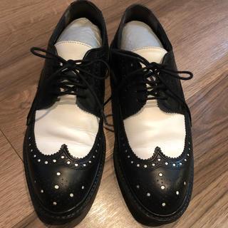 ドゥロワー(Drawer)のROELN ドゥロワー  ウィングチップ レザーシューズ パンプス アローズ  (ローファー/革靴)