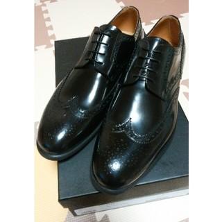 カンパニーレ(CAMPANILE)の【新品】カンパニーレ 外羽根 ウイングチップ 25.5cm 革靴(ドレス/ビジネス)
