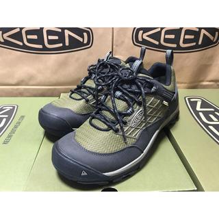 キーン(KEEN)のKEEN   27cm SALTZMAN WP 防水 オリーブ 新品(スニーカー)