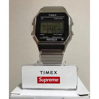 Supreme×TIMEX 腕時計/silver/新品/シュプリーム
