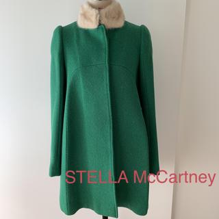 ステラマッカートニー(Stella McCartney)のステラ マッカートニー ミンク付きコート(ロングコート)