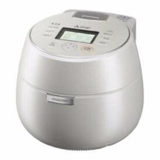 ミツビシデンキ(三菱電機)の三菱 炊飯器 本炭釜 KAMADO NJ-AW108-W(炊飯器)