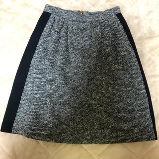 ルーニィ(LOUNIE)のルーニー スカート 黒(ひざ丈スカート)