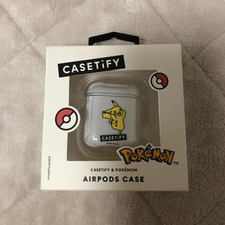 ポケモン(ポケモン)のcasetify ポケモン AirPodsケース(モバイルケース/カバー)