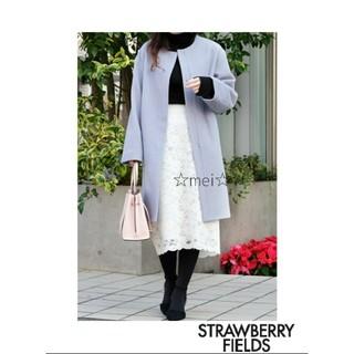 ストロベリーフィールズ(STRAWBERRY-FIELDS)の~ストロベリーフィールズ~ コート(ロングコート)