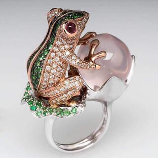 新品◆カエルのリング④(リング(指輪))
