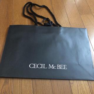 セシルマクビー(CECIL McBEE)のCECIL McBEE ショッパー(ショップ袋)