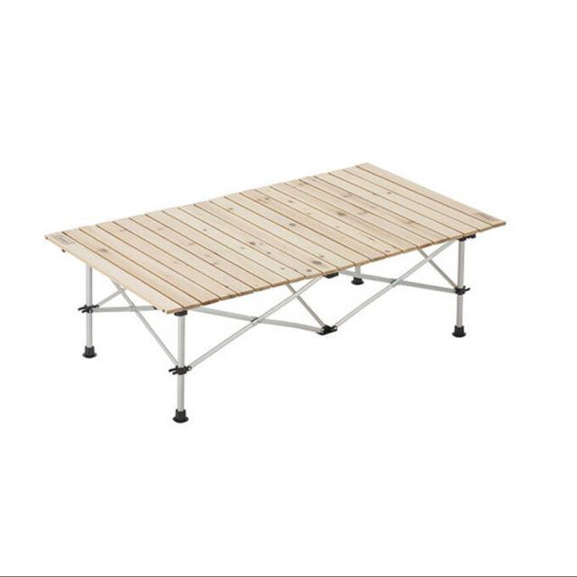 Coleman(コールマン)のコールマン アウトドアテーブル ナチュラルウッドロールテーブル/120 インテリア/住まい/日用品の机/テーブル(アウトドアテーブル)の商品写真