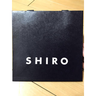 シロ(shiro)のSHIRO 紙袋(ショップ袋)
