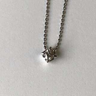 ミッシェルクラン(MICHEL KLEIN)のミッシェルクランプラチナダイヤモンドネックレス(ネックレス)