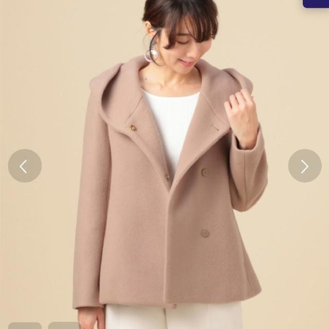 Mila Owen(ミラオーウェン)のラウンド襟ショートコート レディースのジャケット/アウター(その他)の商品写真