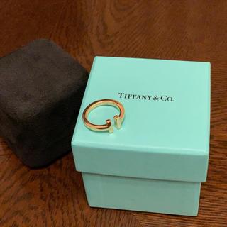 ティファニー(Tiffany & Co.)のティファニー Tスクエア リング 750YG(リング(指輪))