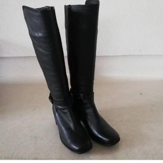イング(ing)のing イング 本革 ロングブーツ 21.5cm EE (ブーツ)