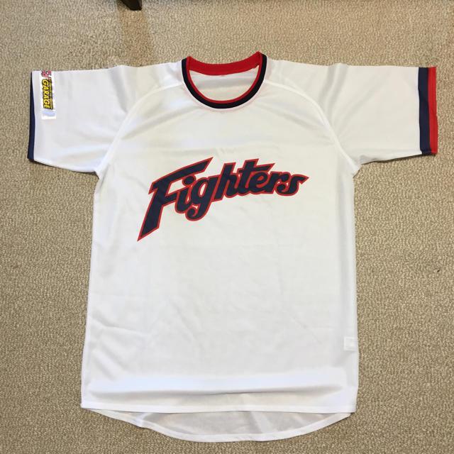 北海道日本ハムファイターズ(ホッカイドウニホンハムファイターズ)のユニフォーム Tシャツ ファイターズ  スポーツ/アウトドアの野球(応援グッズ)の商品写真