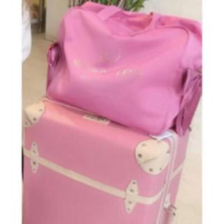 メゾンドフルール(Maison de FLEUR)のメゾンドフルール♡トラベルキャリーオンLバッグ&巾着(旅行用品)