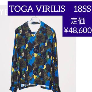 TOGA - 【新年価格】TOGA 総柄シャツ