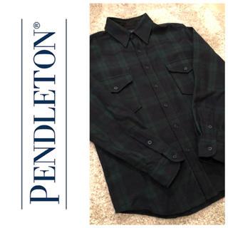 ペンドルトン(PENDLETON)の【大特価】PENDLETON チェックシャツ グリーン(シャツ)