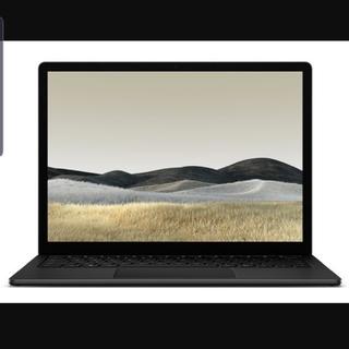 マイクロソフト(Microsoft)のSurface Laptop 3 Core i7/16GB/256GB/ブラック(ノートPC)