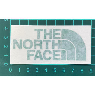 ザノースフェイス(THE NORTH FACE)のノースフェイス ステッカー (カッティング グリーン)(ステッカー)