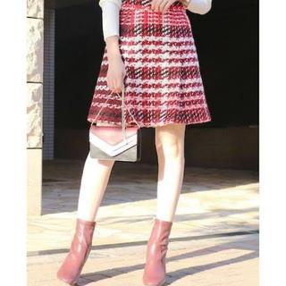 MERCURYDUO - ツイード ミニスカート