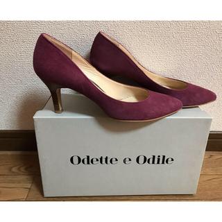 オデットエオディール(Odette e Odile)のオデットエオディール パンプス パープル Odette e Odile(ハイヒール/パンプス)