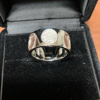 ルイヴィトン(LOUIS VUITTON)のルイヴィトン ホワイトゴールドダイヤリング(リング(指輪))