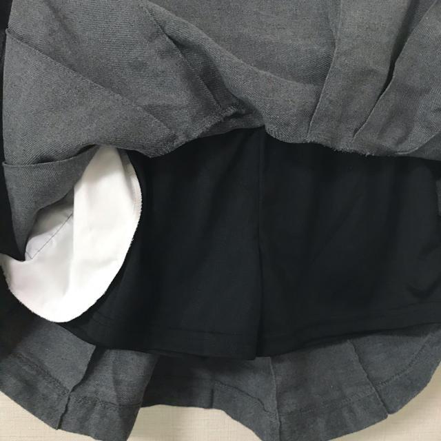 しまむら(シマムラ)の160㎝☆スカート☆インナーパンツ付き キッズ/ベビー/マタニティのキッズ服女の子用(90cm~)(スカート)の商品写真