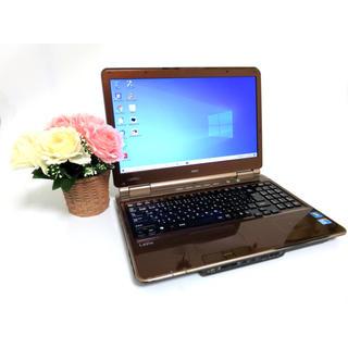 エヌイーシー(NEC)の大容量/Core i5/Win10/DVD作成/Office/無線(ノートPC)