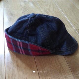 エフオーキッズ(F.O.KIDS)の耳当て付きキャップ 帽子(帽子)
