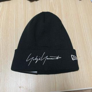 ヨウジヤマモト(Yohji Yamamoto)のYohji Yamamoto new era ニット帽 タグあり(ニット帽/ビーニー)