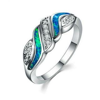 BFO01女性愛の心リング結婚指輪日本サイズ16号(リング(指輪))