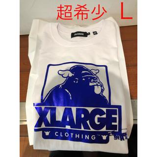 エクストララージ(XLARGE)の新品!残りLのみ!渋谷西武店限定!X-LARGE×D Face コラボ白Tシャツ(Tシャツ(半袖/袖なし))