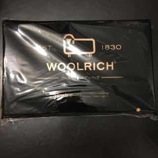 ウールリッチ(WOOLRICH)のモノマスター Monomaster 1月号 付録 ウールリッチ ボディバッグ(ボディーバッグ)