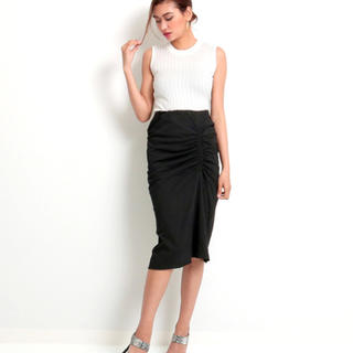 アナップラティーナ(ANAP Latina)のLATINA サイドギャザースカート(ひざ丈スカート)