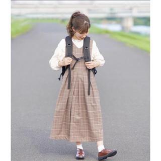 レトロガール(RETRO GIRL)のチェック ジャンスカ (ひざ丈ワンピース)