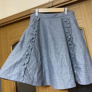 ティティアンドコー(titty&co)のtitty&Co. フリル付きスカート(ひざ丈スカート)