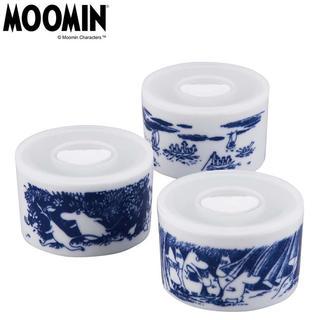 リトルミー(Little Me)の★最新柄★ムーミン タリナ トリオレンジセット  陶器(容器)