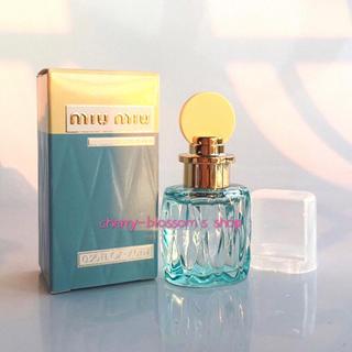miumiu - MIU MIU ミュウミュウ香水オードパルファム ローブルー EDP 7.5ml