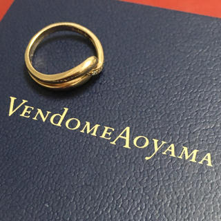 ヴァンドームアオヤマ(Vendome Aoyama)のヴァンドーム VENDOME k18 イエローゴールド ダイヤモンド リング(リング(指輪))