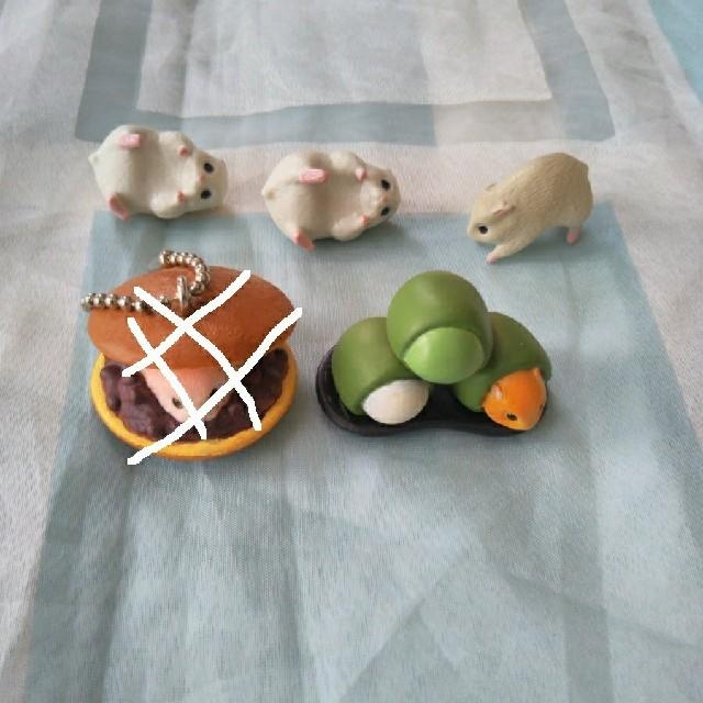 EPOCH(エポック)のエポック もっちりハムスター特選 ずんだ餅ハム +おまけフィギュア エンタメ/ホビーのフィギュア(その他)の商品写真